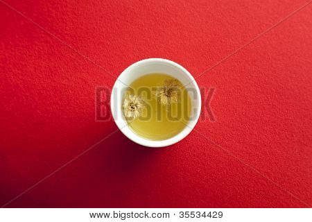 A Cup Of Chrysanthemum Tea