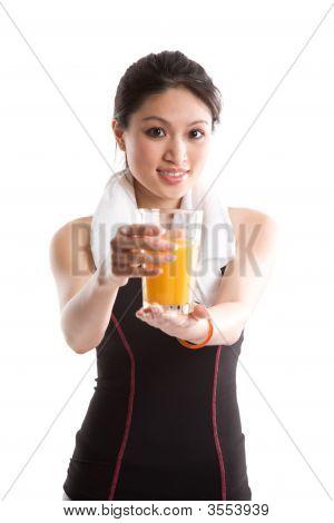Healthy Asian Girl