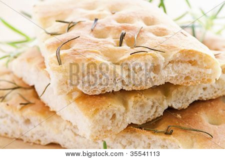 Focaccia with rosmarin
