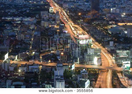 Bangkok, Panorama, Aerial Photo