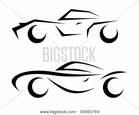 Car Model Sketch