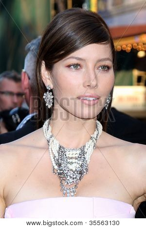 LOS ANGELES - AUG 1:  Jessica Biel arrives at the