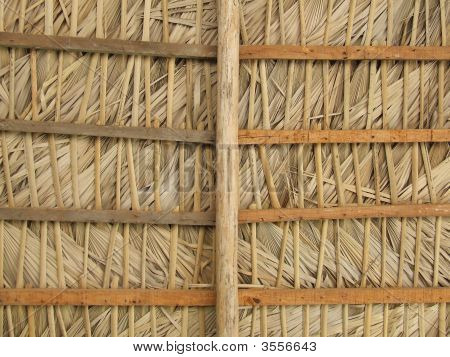 Straw Ceiling Pattern