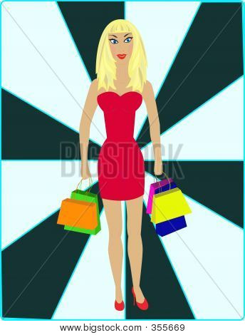 Sexy Blond - Shopping