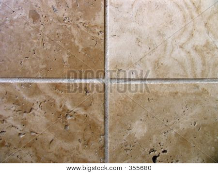 Travertine Stone Floor Tiles