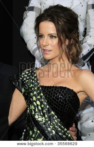LOS ANGELES - AUG 1: Kate Beckinsale at the Los Angeles Premiere of 'Total Recall' at Grauman's Chinese Theater on August 1, 2012 in Los Angeles, California