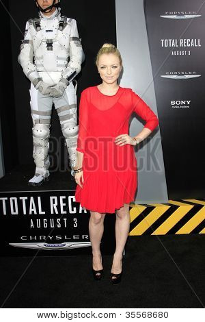 LOS ANGELES - AUG 1: Francesca Eastwood at the Los Angeles Premiere of 'Total Recall' at Grauman's Chinese Theater on August 1, 2012 in Los Angeles, California
