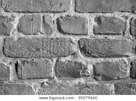 Brick Wall, B&W