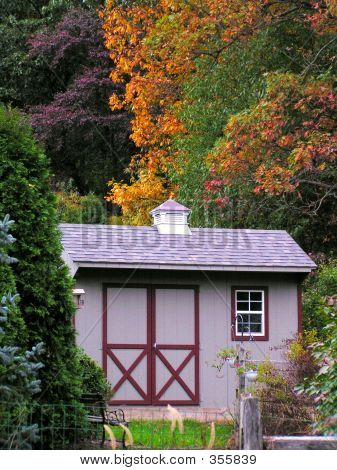 Garden Shed In Rural Pennsylvania