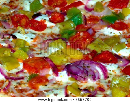 Vegetarian Pizza Detail