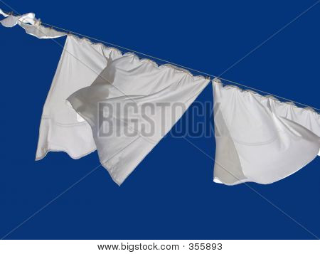 Drying Bedclothes