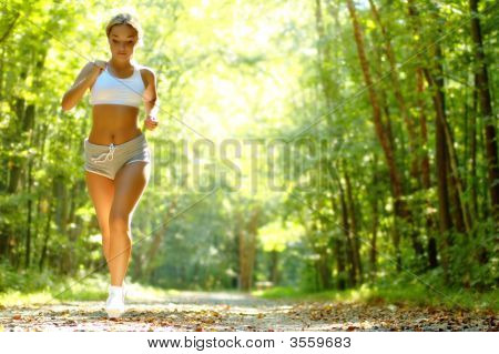 Pretty Young Runner