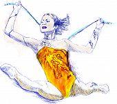Постер, плакат: гимнастика