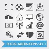 picture of home is where your heart is  - Social media related vector icons for your design or application - JPG