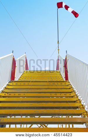 Stairway windsock