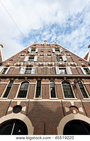 Gable In Amsterdam