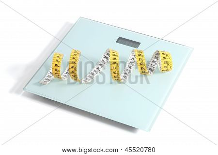 Scale With A Tape Measure