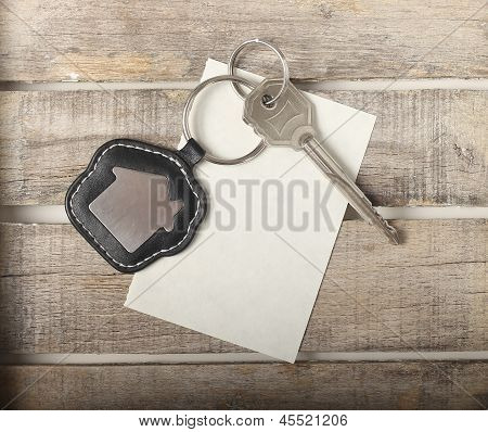 Key With House Icon