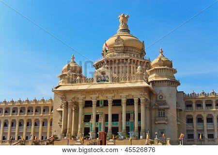 Vidhana Soudha o edifício legislativo do estado