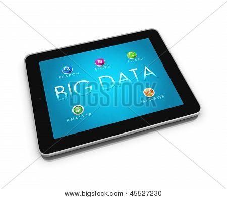 Tablet de grande volume de dados 2