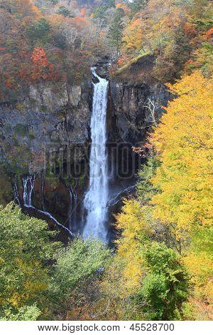 Kegon Falls In Nikko, Japan.