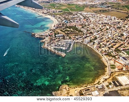 Flight Aerial View