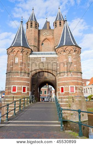 The Amsterdamse Poort, Haarlem, Holland