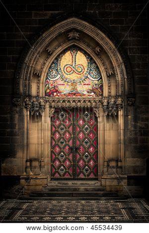 Gothic Entrance