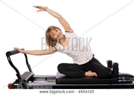 A Nice Pilates Girl