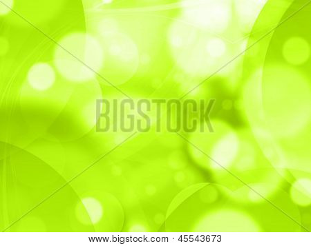 Abstract Green Background Fresh