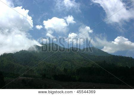 laderas del Monte Merapi