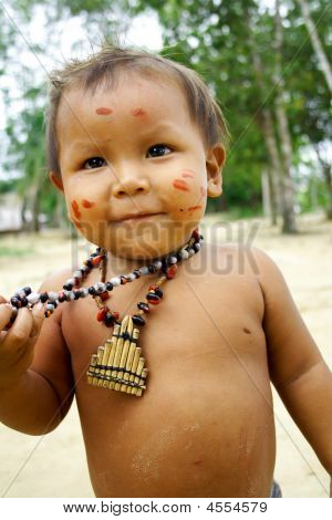 Amazon Indian Child