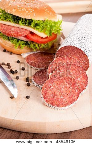 Sausage And Sandwich