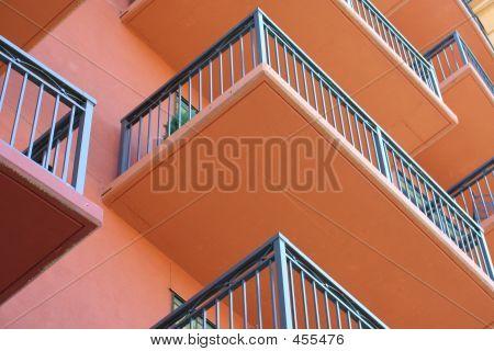 Horizontal Balconies