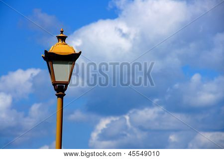 Lantern And Clouds