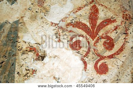 ancient wall  tile