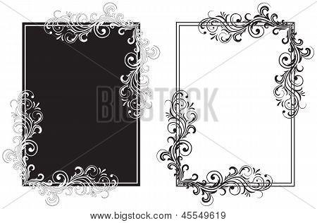 Black And White Frames