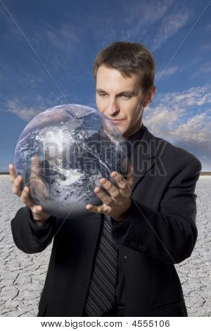 Stock Photo: Global Business Concerns