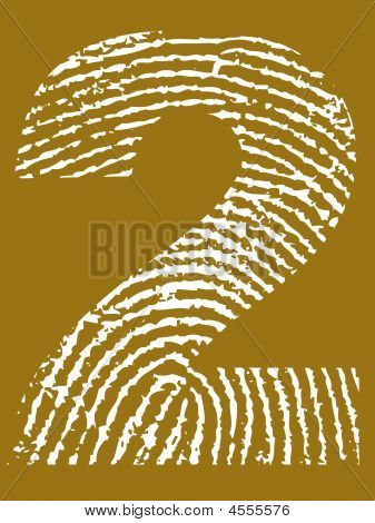 Fingerprint Alphabet No 2