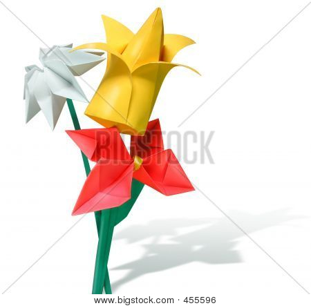 Paper Flowers Origami