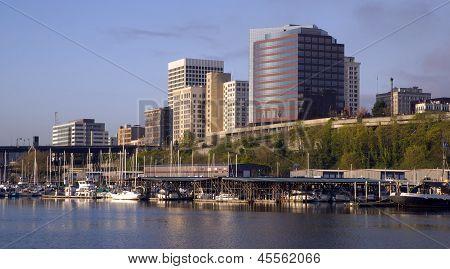 Thea Foss Waterway Commencement Bay Marina Buildings Tacoma Washington Waterfront