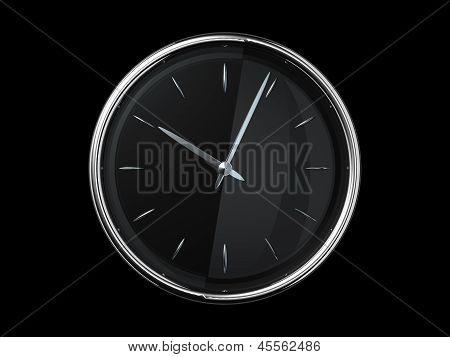 Modern Metal Clock