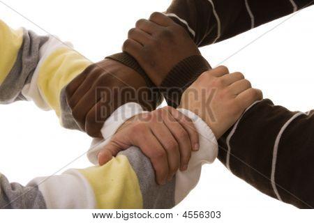Multiracial Team