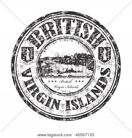 British Virgin Islands rubber stamp