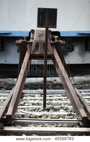 Railroad Buffer Stop