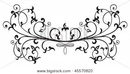 Ornate Floral Element