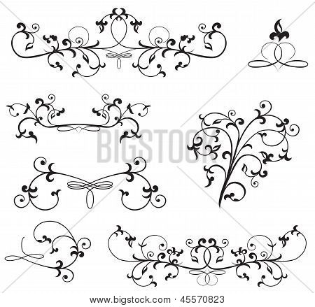 Ornate Floral Elements