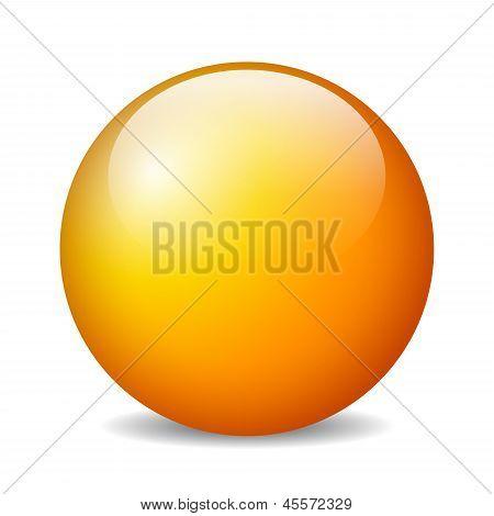 Esfera brilhante do vetor