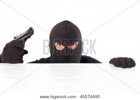 Thief With A Pistol