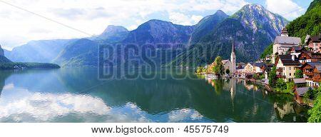 Quaint Austrian village